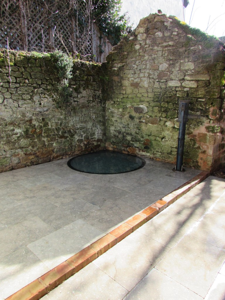 Restored Well in back yard