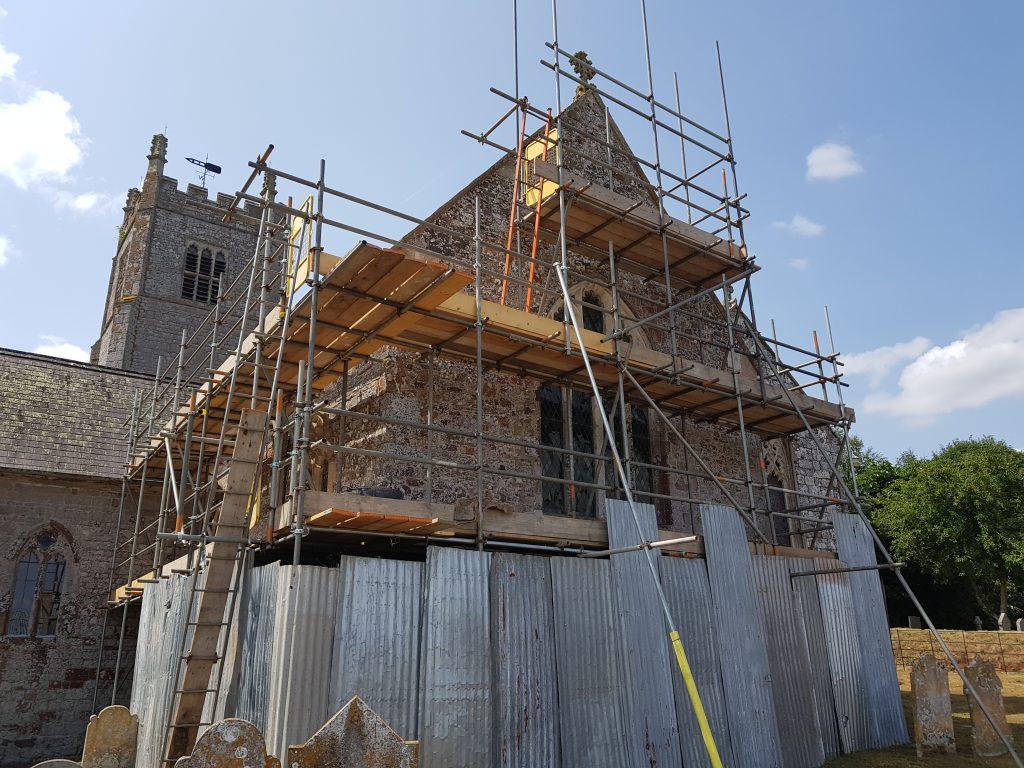 Church Restoration and conservation project, Colebrook, Devon